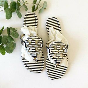 Tory Burch Miller Striped Sandals Shoes